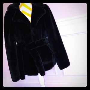 Jackets & Blazers - Faux Fur Ladies Coat